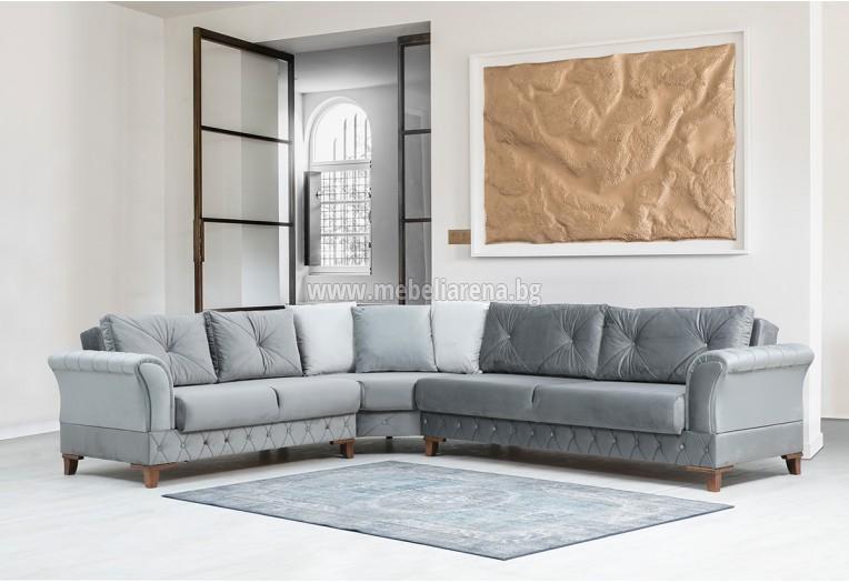 Ъгловивя холен диван като стилистично дизайнерско решенине и за вашия дом